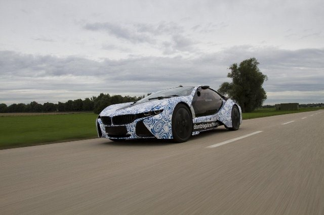 BMW Vision EfficientDynamics под  гжель 14