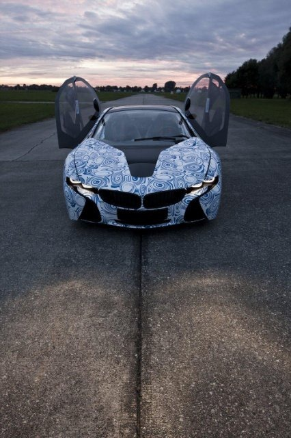 BMW Vision EfficientDynamics под  гжель 16