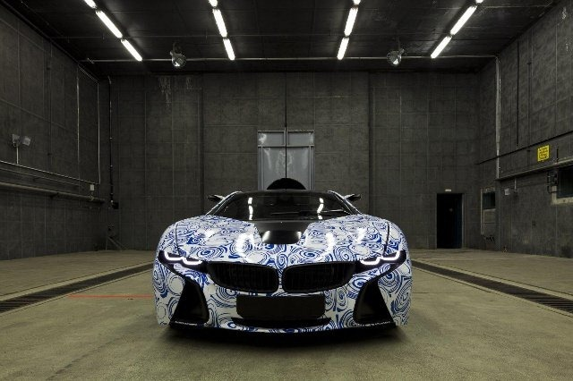BMW Vision EfficientDynamics под  гжель 17