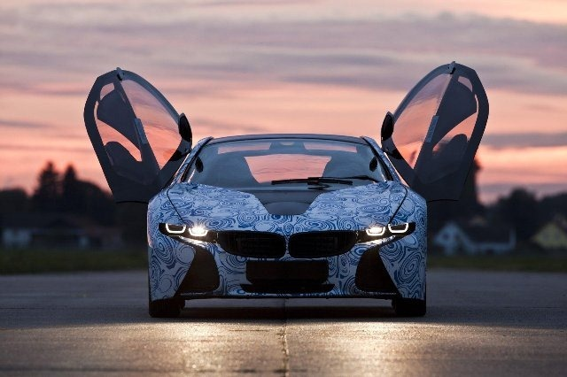 BMW Vision EfficientDynamics под  гжель 19
