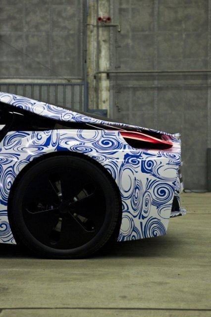 BMW Vision EfficientDynamics под  гжель 24