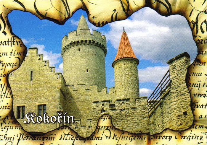 Кокоржин - cредневековый чешский замок 15594