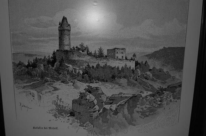 Кокоржин - cредневековый чешский замок 79259
