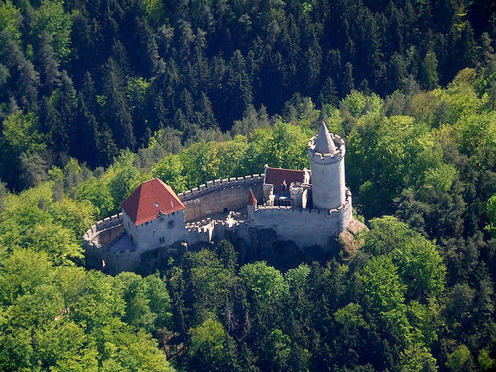 Кокоржин - cредневековый чешский замок 69078