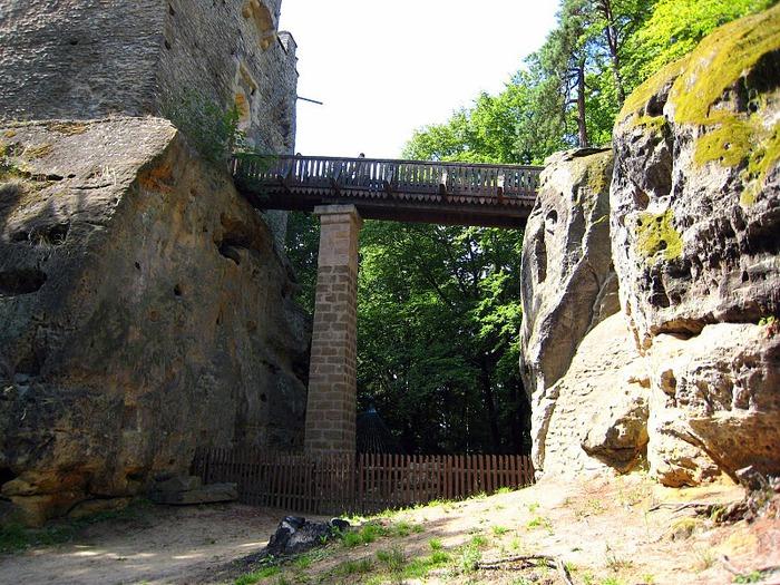 Кокоржин - cредневековый чешский замок 53713