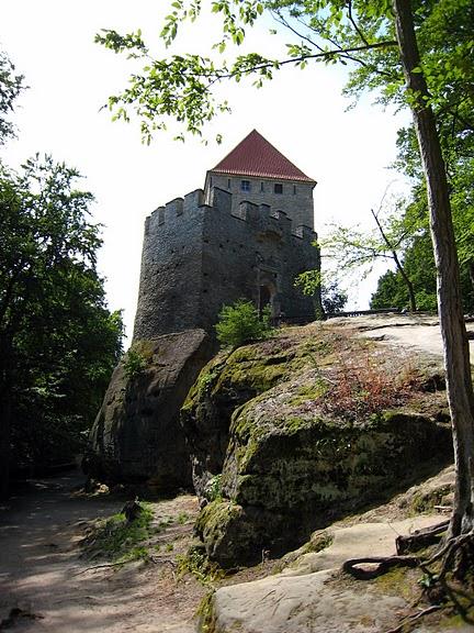 Кокоржин - cредневековый чешский замок 56476