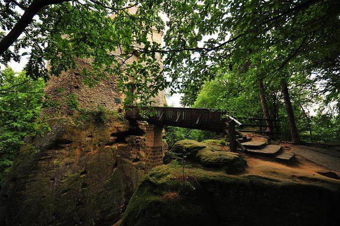 Кокоржин - cредневековый чешский замок 30551