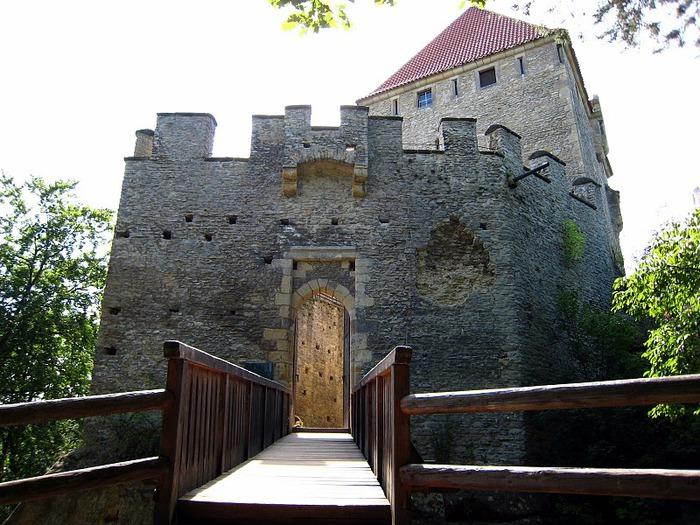 Кокоржин - cредневековый чешский замок 29571