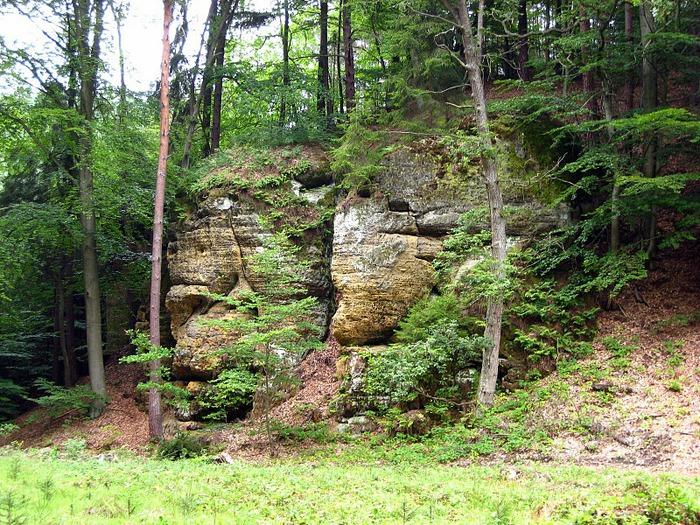 Кокоржин - cредневековый чешский замок 33735