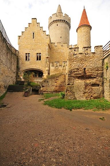 Кокоржин - cредневековый чешский замок 21839