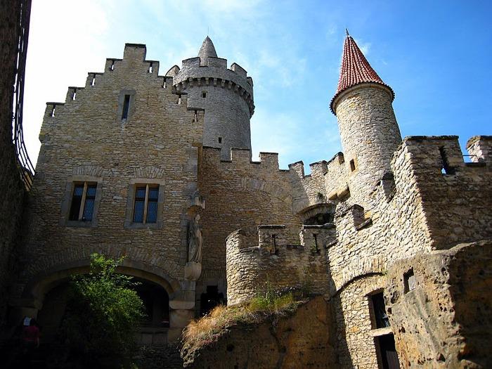 Кокоржин - cредневековый чешский замок 81417