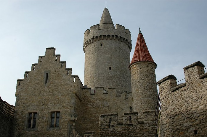 Кокоржин - cредневековый чешский замок 97351