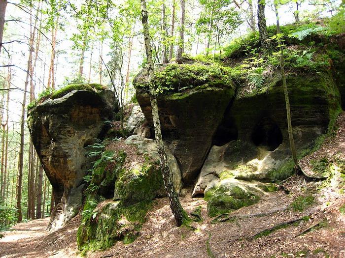 Кокоржин - cредневековый чешский замок 23769