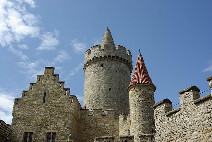 Кокоржин - cредневековый чешский замок 29875