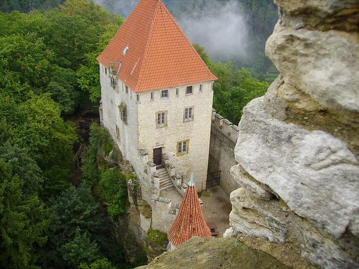 Кокоржин - cредневековый чешский замок 48241