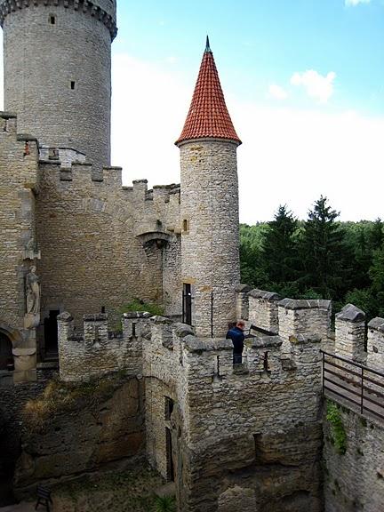 Кокоржин - cредневековый чешский замок 91259