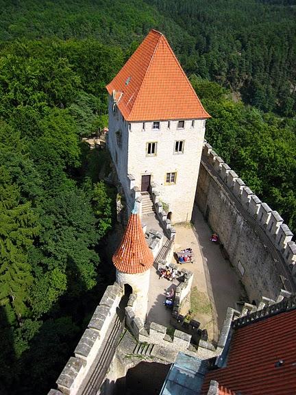 Кокоржин - cредневековый чешский замок 30710
