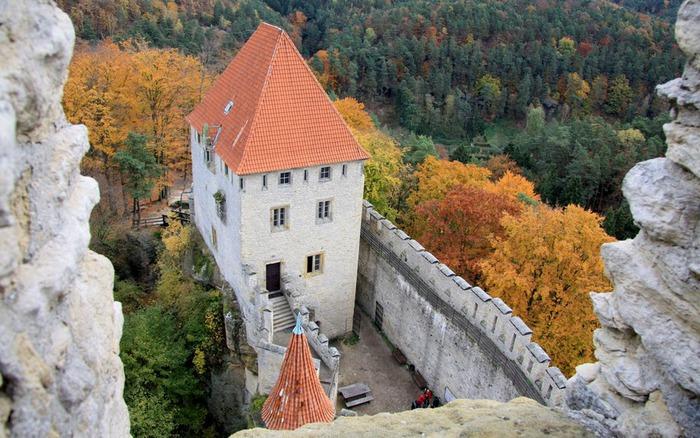 Кокоржин - cредневековый чешский замок 74148