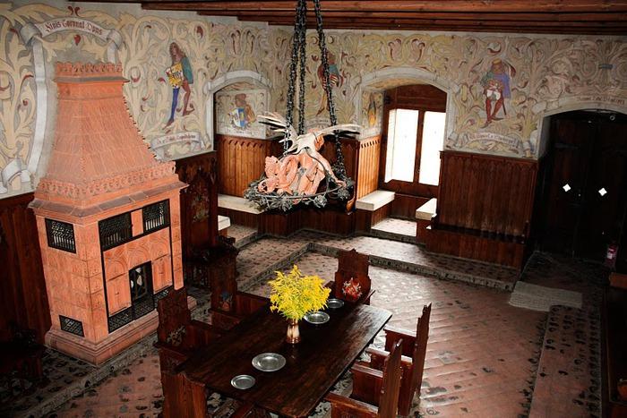 Кокоржин - cредневековый чешский замок 49707