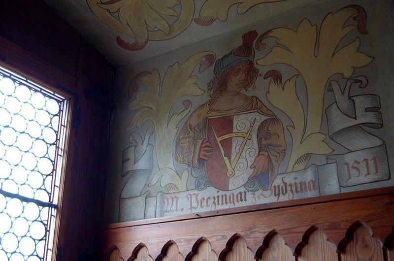 Кокоржин - cредневековый чешский замок 97827