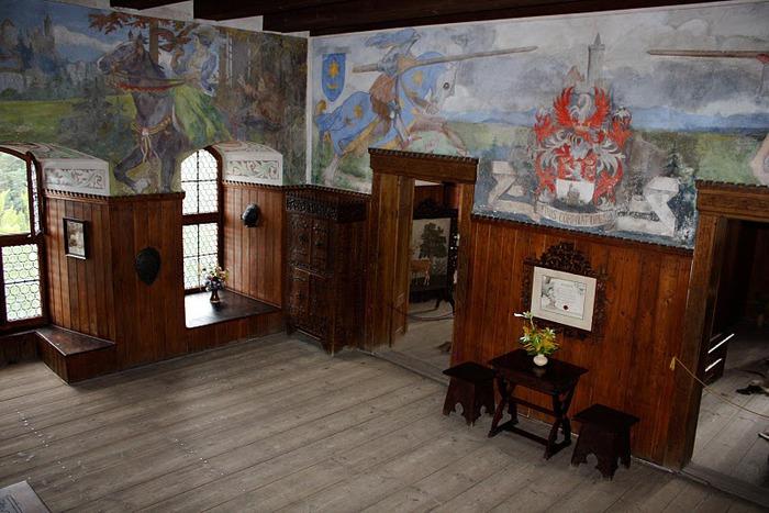 Кокоржин - cредневековый чешский замок 88840