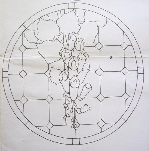 Шаблоны для витражной росписи 60992