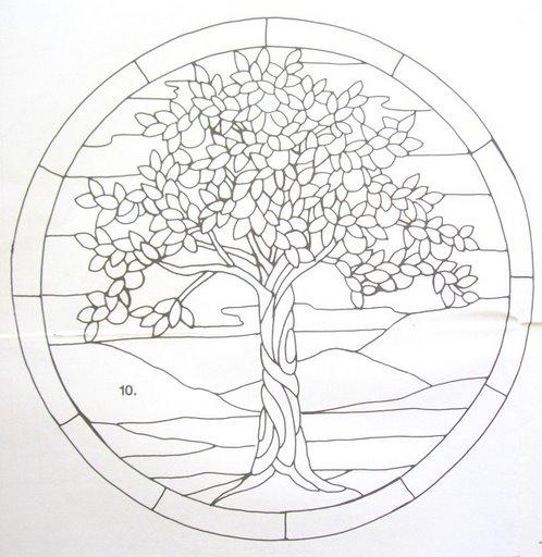 Шаблоны для витражной росписи 33539