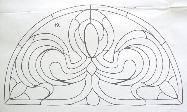 Шаблоны для витражной росписи 72906