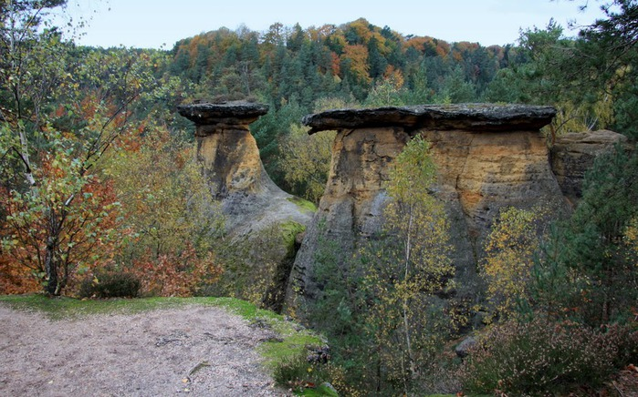 Кокоржин - cредневековый чешский замок 66625