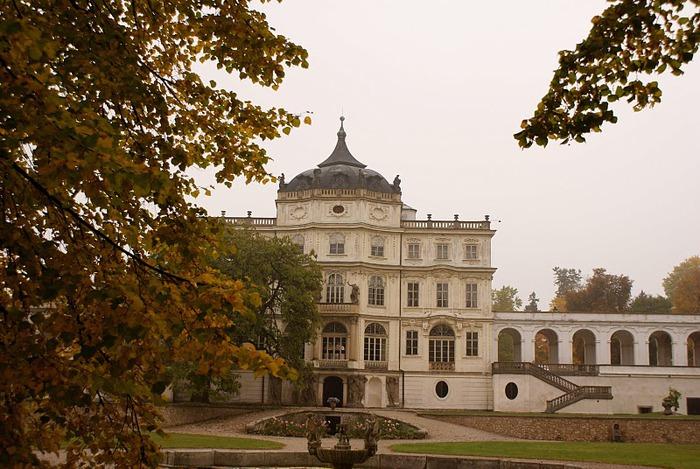 Плосковице (Ploskovice) - замок 49132