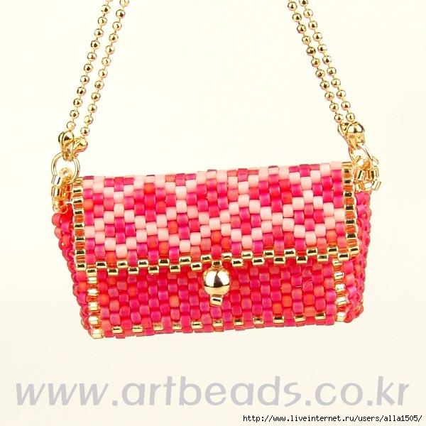 схема бисерной сумочки