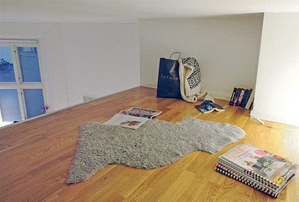 Оформление интерьера под место для чтения 10