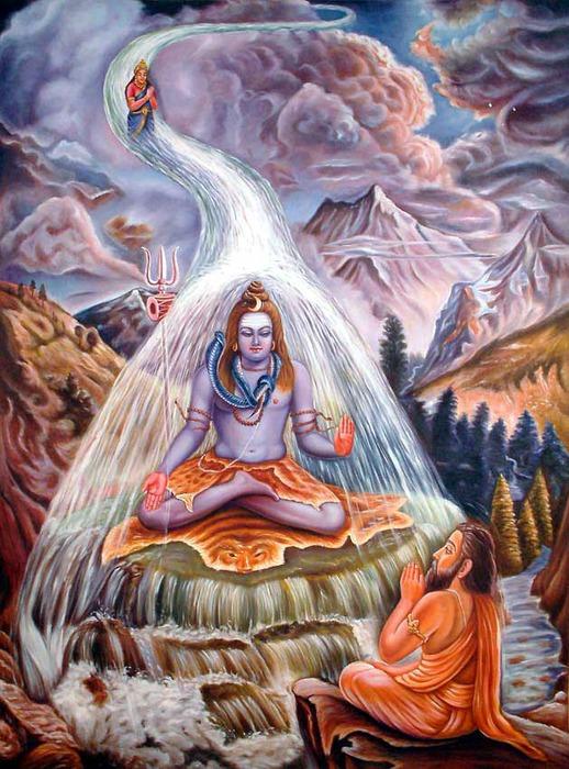 Священные воды Ганги.