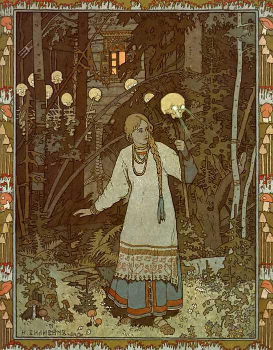 иллюстрация к сказке Василиса ПреккраснаяAgi (545x699, 69 Kb)