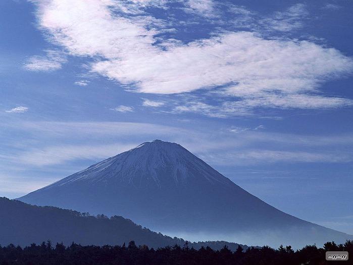 Величественный символ Японии - гора Фудзи 7