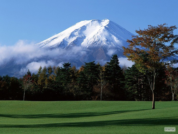 Величественный символ Японии - гора Фудзи 10