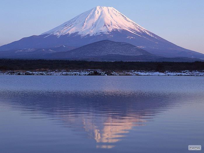 Величественный символ Японии - гора Фудзи 11