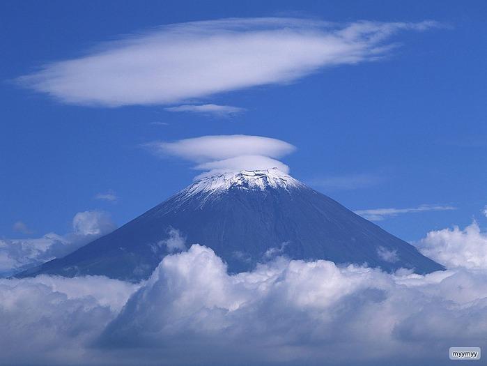 Величественный символ Японии - гора Фудзи 28