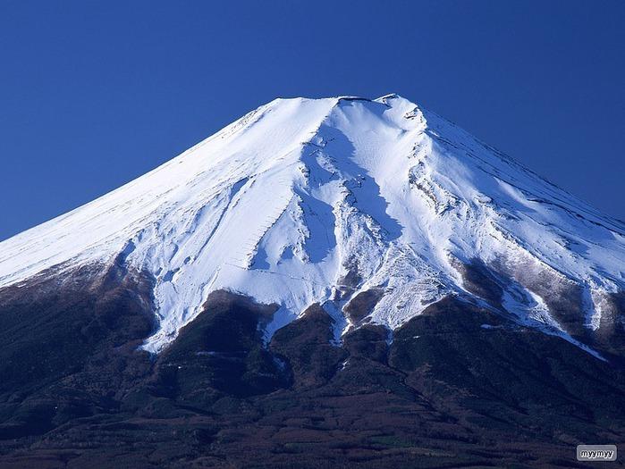 Величественный символ Японии - гора Фудзи 29
