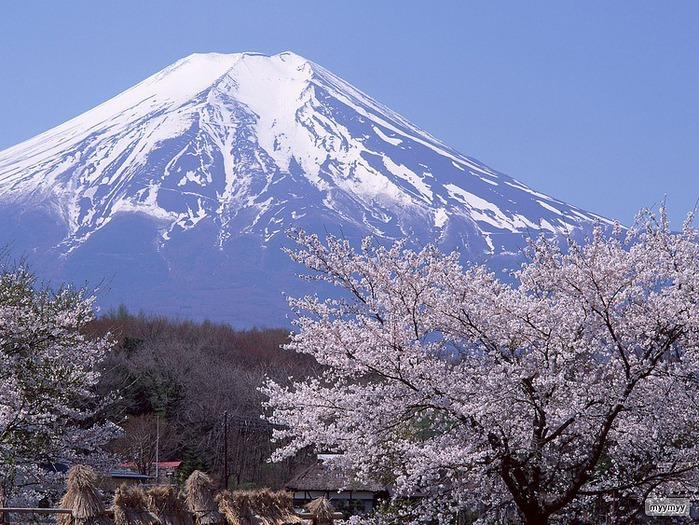 Величественный символ Японии - гора Фудзи 34