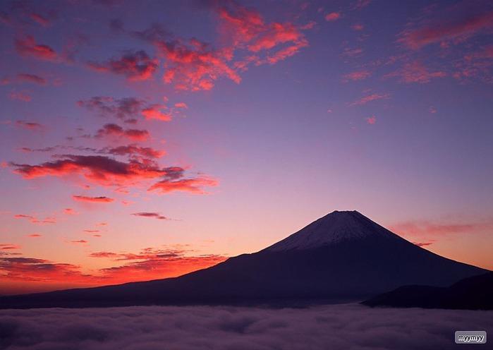 Величественный символ Японии - гора Фудзи 66