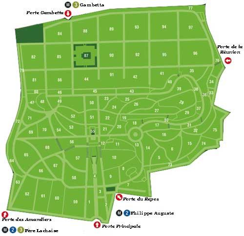 Кладбище Пер-Лашез 22629