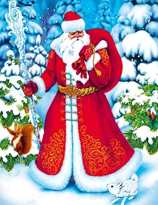 День рождение Деда Мороза  66726840_dedmoroz