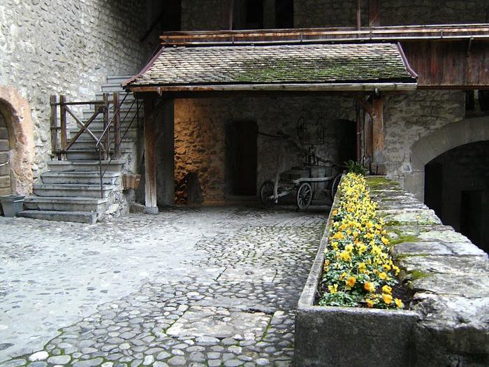 Шильонский замок (Швейцария) 21716