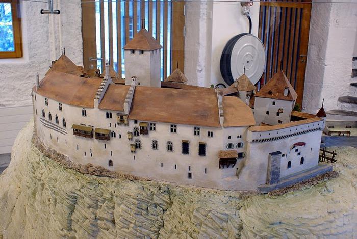 Шильонский замок (Швейцария) 60772