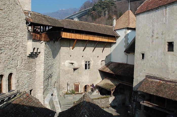 Шильонский замок (Швейцария) 59321