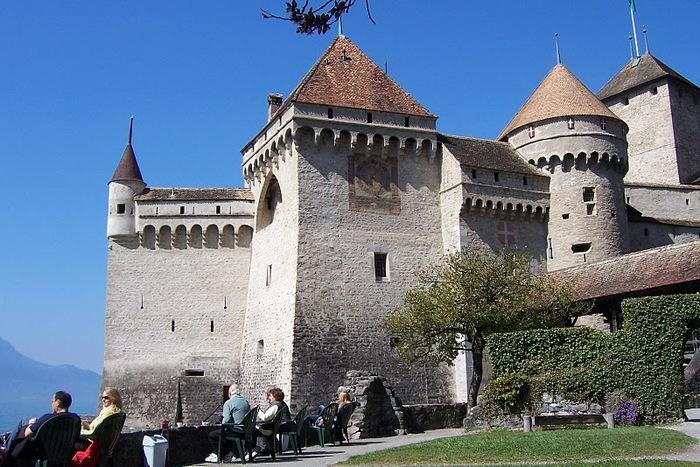 Шильонский замок (Швейцария) 87291