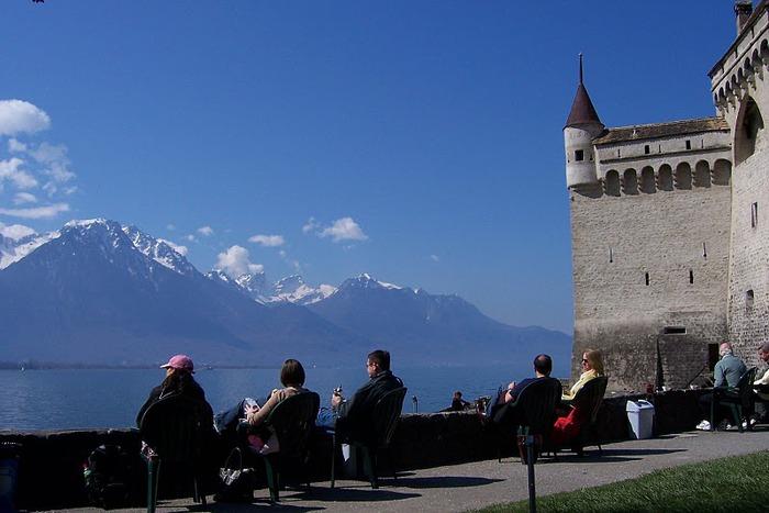 Шильонский замок (Швейцария) 68606