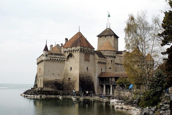 Шильонский замок (Швейцария) 94716
