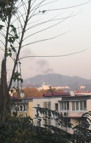(305x478, 273Kb)Загорелись в ноябре и кавказские леса. Пожар в лесу вблизи Сочи